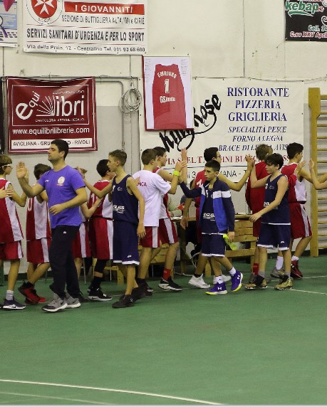 Under 14 Vs Rosta Basket - 05/12/2018